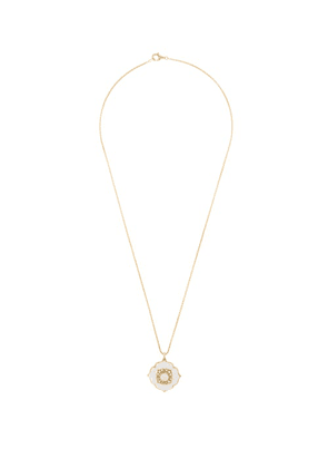 Noor Fares - Nirvana Diamond, Pearl & 18kt Gold Necklace - Womens - Pearl