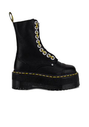 Dr. Martens Quad Retro Sinclair Hi Max Boot in Black. Size 8,9.