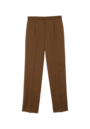 Pleated elastic waist easy pants