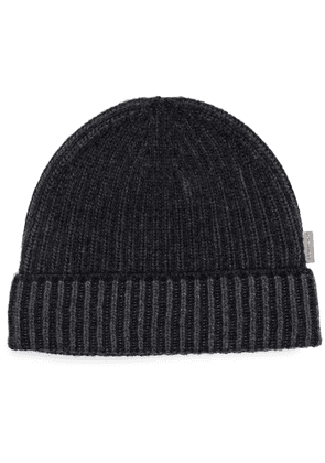 Burberry ribbed-knit cashmere beanie - Grey