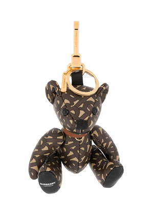 Burberry monogram Thomas Bear keychain - Neutrals