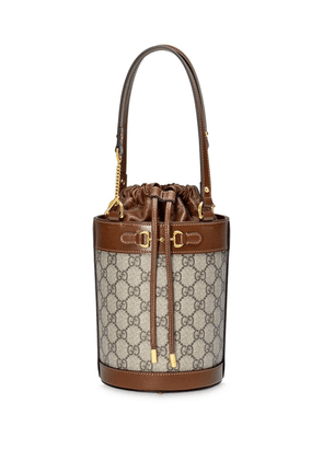Gucci Gucci Horsebit 1955 small bucket bag - Neutrals