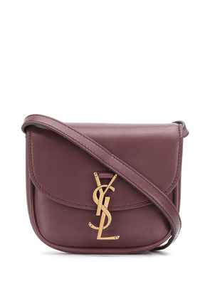 Saint Laurent Kaia logo satchel - PURPLE