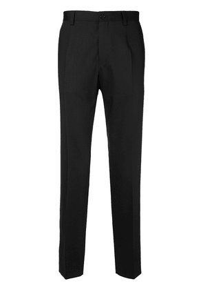 Dolce & Gabbana cropped tapered trousers - Black