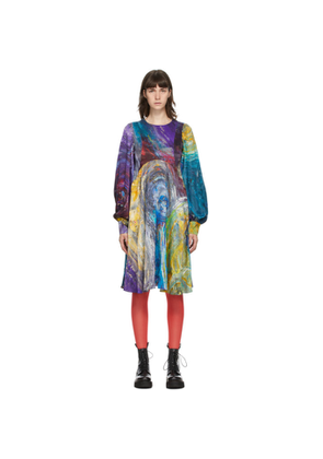 Charles Jeffrey Loverboy Multicolor Painters Smock Dress