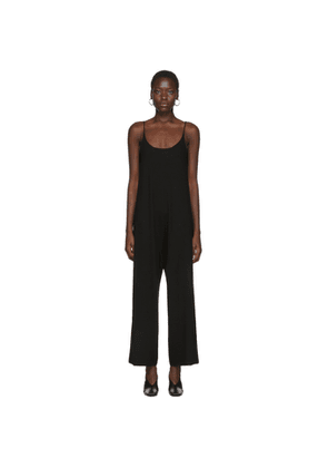 Arch The Black Silk and Cashmere Jumpsuit