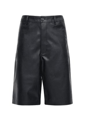 Drkshdw Faux Leather Ams Shorts