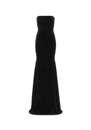 Ashley embellished velvet gown