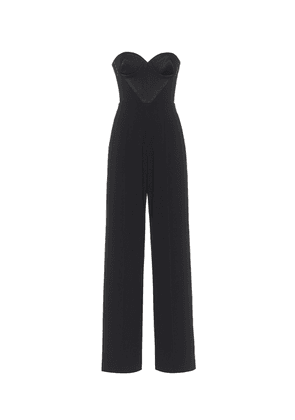 Brook satin crêpe jumpsuit