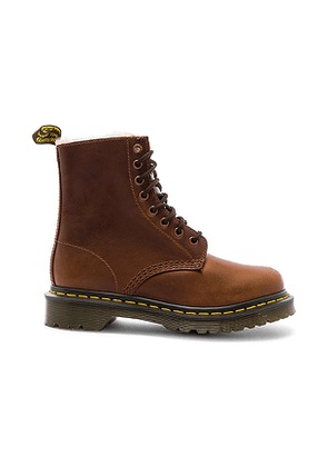 Dr. Martens 1460 Serena Boot in Brown. Size 7,8.