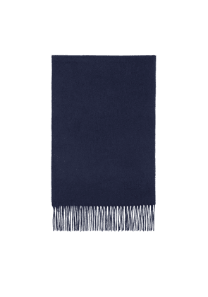 Mulberry Small Solid Lambswool Scarf - Midnight
