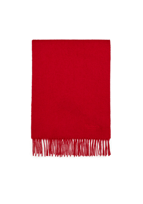 Mulberry Small Solid Lambswool Scarf - Rouge Red