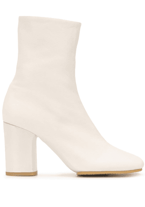 Acne Studios 85mm ankle boots - White