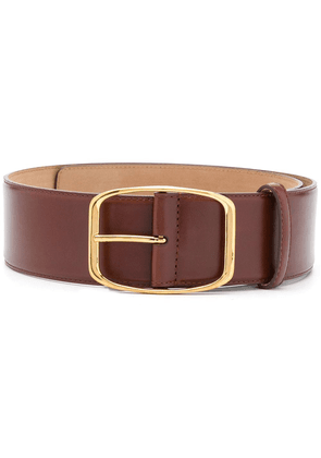 Dolce & Gabbana square buckle belt - Brown