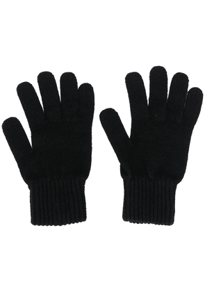 Calvin Klein Bax fine knit gloves - Black