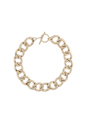 Saint Laurent chunky chain-link necklace - GOLD