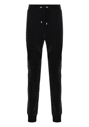 Balmain monogram track pants - Black