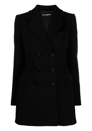 Dolce & Gabbana fitted double-breasted blazer - Black