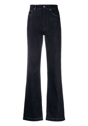 Dolce & Gabbana high-waisted bootcut jeans - Blue