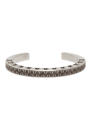 Saint Laurent Silver Carre Bracelet