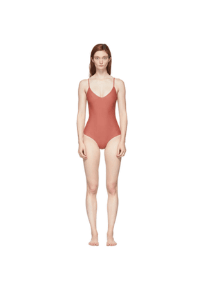 Matteau Pink The Scoop One-Piece Swimsuit