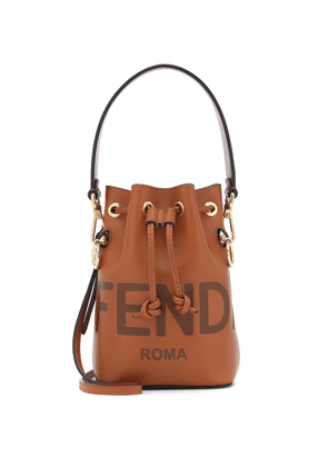 Mon Trésor Mini leather bucket bag