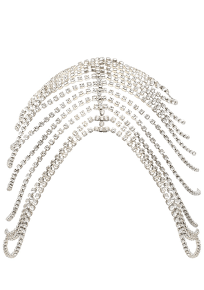Draped Chandelier Crystal Headpiece