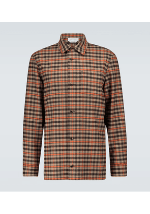 Drew checked overshirt
