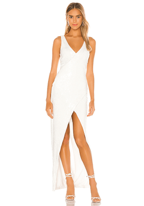 NBD Tristan Gown in White. Size S,XL,XS,XXS.