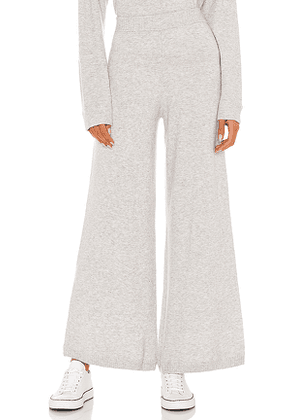 THE UPSIDE Igor Knit Lounge Pant in Grey. Size M,S,XS.