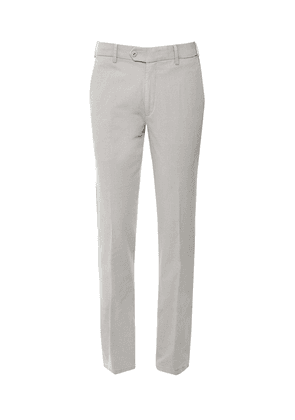 MMX Slim Fit Textured Lupus Trousers Colour: Grey