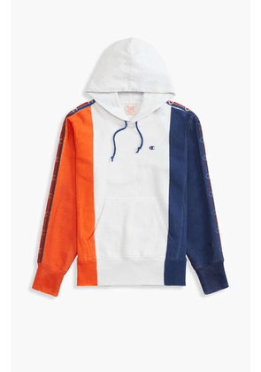 Champion Reverse Weave Hand Painted Colour Block Logo