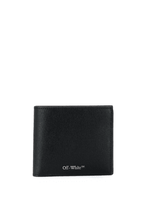 Off-White logo-print wallet - Black