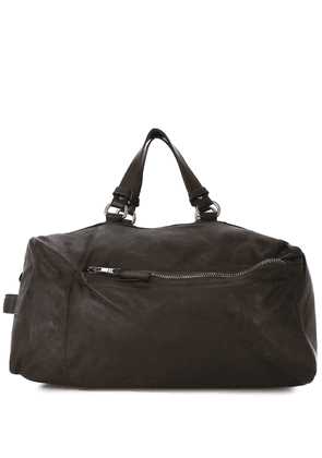 Giorgio Brato weathered effect holdall bag - Brown