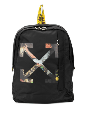 Off-White Arrows-motif Pascal backpack - Black
