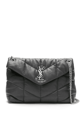 Saint Laurent medium LouLou YSL monogram bag - Grey