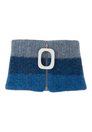 JW Anderson Blue Chunky Neck Band