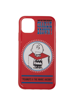 Marc Jacobs Red Peanuts Edition Charlie Brown iPhone 11 Case