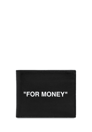 'for Money' Leather Coin Wallet