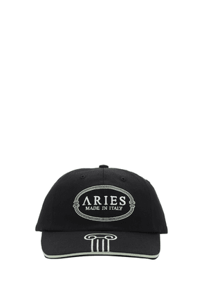 Aries Mint Embroidery Cotton Cap