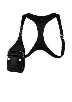 Amiri One Side Harness in Black - Black. Size all.
