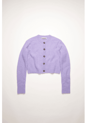 Acne Studios FN-WN-KNIT000350 Light purple Cropped cardigan