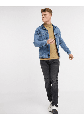 Jack & Jones denim trucker jacket-Navy
