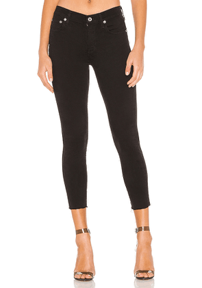 AGOLDE Sophie High Rise Skinny Crop. Size 28,29.