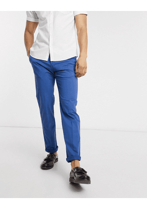Tommy Hilfiger cotton stretch slim fit trousers-Blue