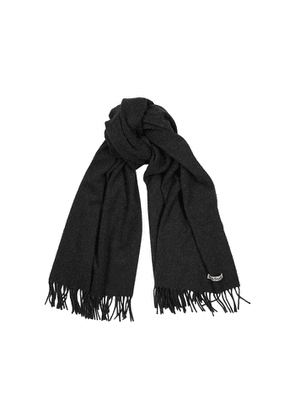 Acne Studios Canada Anthracite Wool Scarf