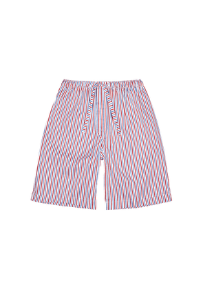 Derek Rose Wellington 50 Striped Cotton Shorts