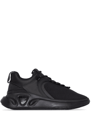 Balmain black B-Runner mesh and nylon sneakers