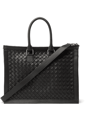 Bottega Veneta - Intrecciato Leather Briefcase - Men - Black