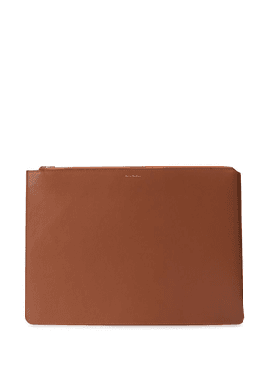 Acne Studios large document holder - Brown